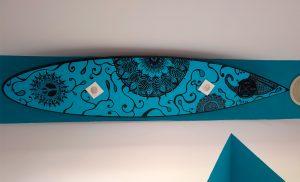 Lámpara de tabla de surf